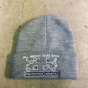 """Capamerica """"All About That Base"""" Genetics Beanie"""